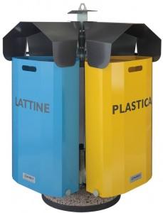 SixBox B40 Contenitore porta rifiuti