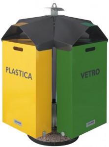 SixBox B10 Contenitore porta rifiuti
