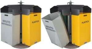 Sixbox Contenitore porta rifiuti