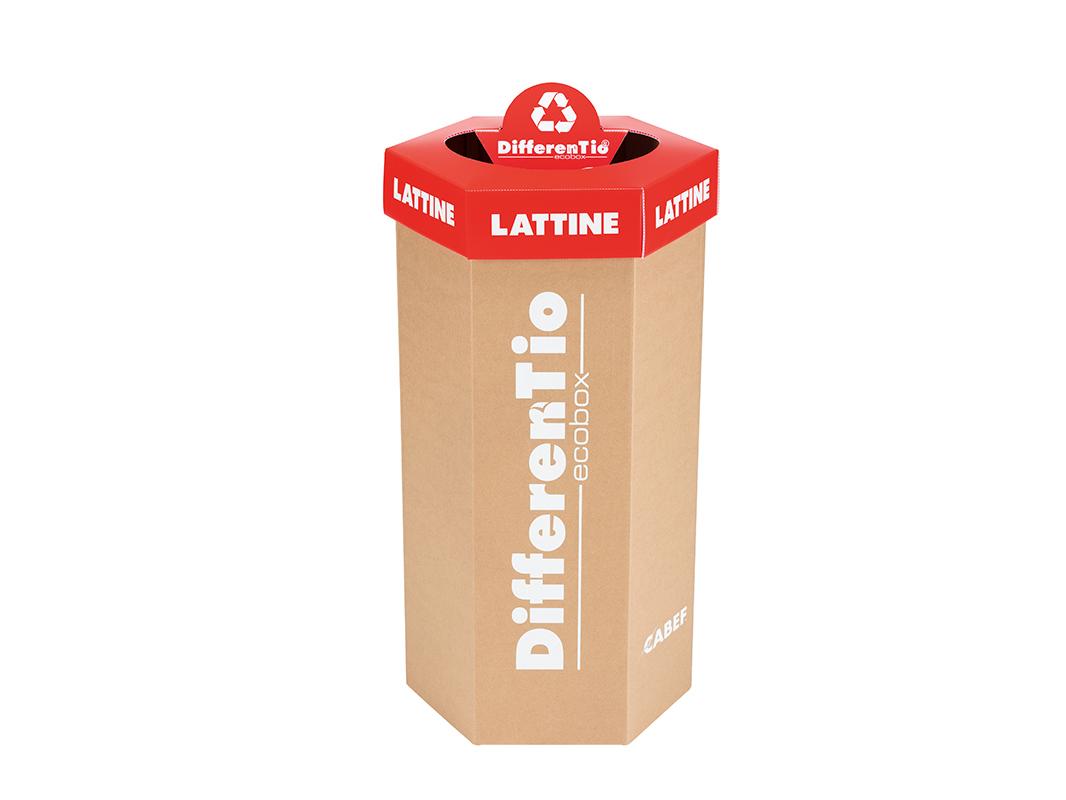 DifferenTio ECOBOX in Polipropilene e Cartone Ondulato lattine (1)