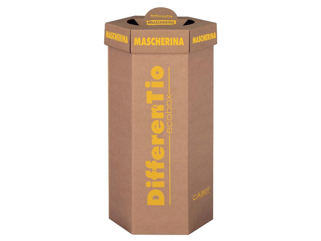 DifferenTio-ECOBOX-Ondulato mascherine 60